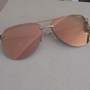 Quay Playa Aviator Sunglasses